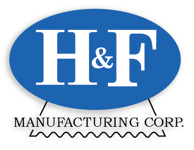 H and F Manufacturing Logo with Drop Shawdow