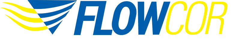 FlowCor logo and link to homepage